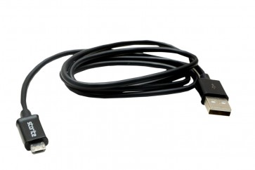 Wholesale Micro USB CHARGING Sync Data Cable - Black - 1M