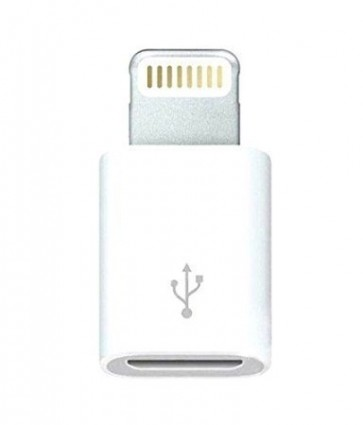 Wholesale Lightning 8pin To Micro USB Converter For iPhone 6/5/5S/5C iPad Mini