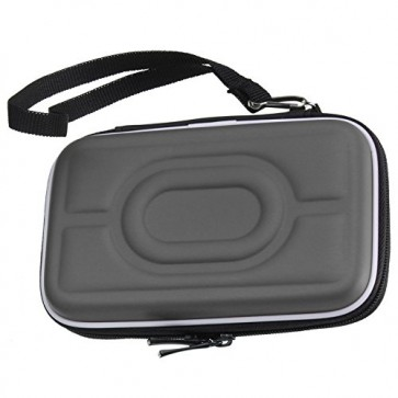 Wholesale 2.5 Inch External Hard Drive Carry Case EVA Portable Water/Shockproof - Light Gray