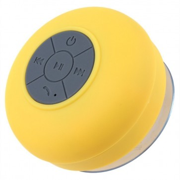 Wholesale Wireless Bluetooth Speaker with Suction Cup for All Devices with Bluetooth Capability - Yellow