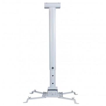 RiaTech Heavy Duty - 3 Feet Projector Ceiling Mount Bracket - White (Weight Capacity - 15kgs)