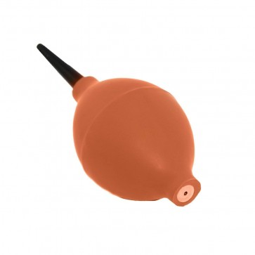 Storite Rubber Air Pump Cleaner Cum Dust Blower for Electronic Devices (Orange)