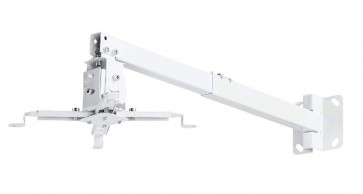 RiaTech 2 feet Heavy Duty Universal  Projector Ceiling Mount Bracket White ( Weight Capacity - 12kgs )