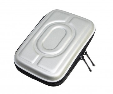 Wholesale 2.5 Inch External Hard Drive Carry Case EVA Portable Water/Shockproof - Silver