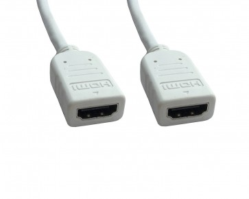 Wholesale HDMI Female to Female Cable to Extend HDMI cable 2 Foot - White