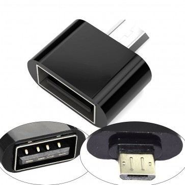 Wholesale Square Micro USB 2.0 OTG Adapter for Smartphones & Tablets (Black)