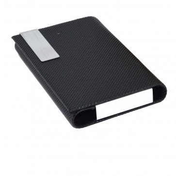 Wholesale Stylish Pocket Sized Metal Visiting Card / Debit / Credit Card Holder for Men Women - Black