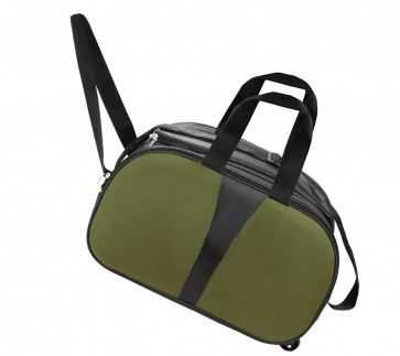 Storite Nylon Travel Duffle Luggage Bag with wheels (18 x 9 x 11inch) – Olive Green