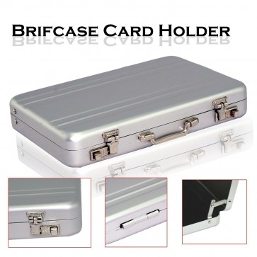 Wholesale Briefcase Style Credit / Debit / Visiting Business Card Holder