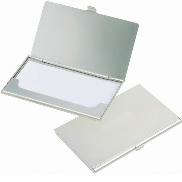 RiaTech Steel Visiting And Business Card Holder For Men Women