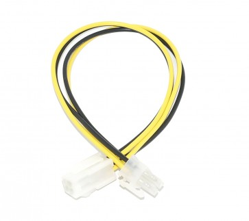 Wholesale SMPS 4 PIN EXTENSION IN 0.20M - 4 pin male to female suitable for extending 12V - 4pin cable of Power Supply