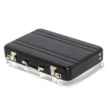 Wholesale High Quality Widely Use Briefcase Style Credit / Debit / Visiting Business Card Holder - Black