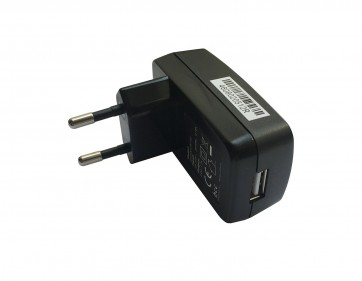 Wholesale USB 2 Pin Adapter Indian EU Plug Flat Wall Charger Power Adapter