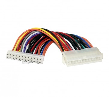 Wholesale SMPS 24 PIN EXTENSION IN 0.20M - ATX 24 pin male to female suitable for extending 24pin