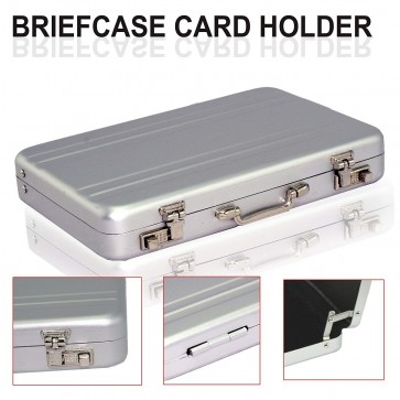 Storite High Quality Widely Use Briefcase Style Credit / Debit / Visiting Business Card Holder