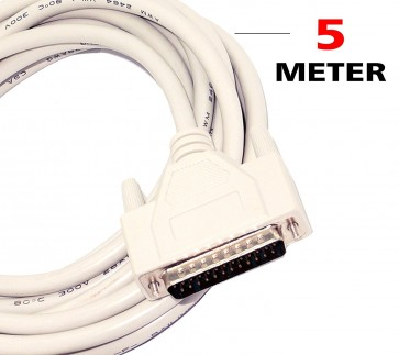 LPT Printer Cable Wire for Dot Matrix and Old Inkjets Printer- 5 Meter