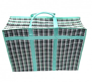 Storite Grocery Shopping Storage bag with Reinforced Handles- 45x25x60cm (Multicolour)