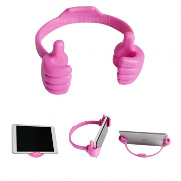 Wholesale Ok Stand for Smart Phones Mobile & Tablets -  Pink
