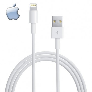 Wholesale USB 2.0 Data Cable For Apple iPhone 5 5c 5S, iPad Mini, iPod Touch 5G, new iPad and iPad Air - iOS 7 Compatible 1m-White