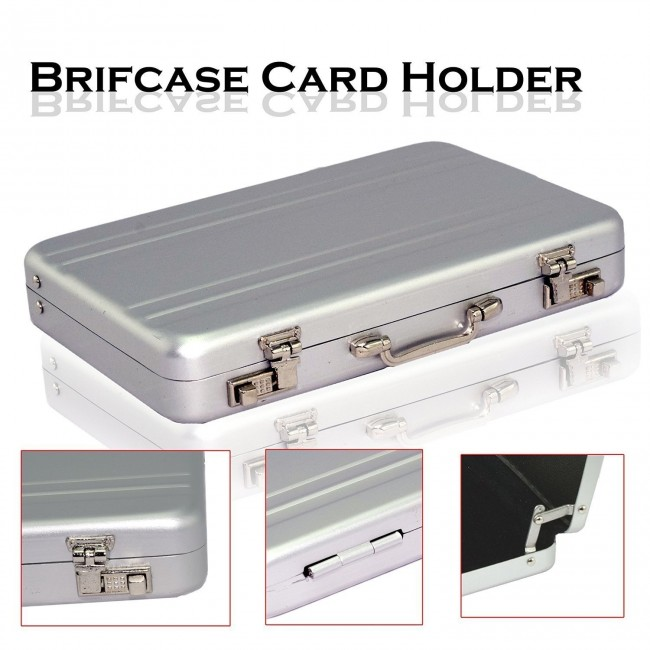 best sneakers 9451a 5f987 Wholesale Briefcase Style Credit / Debit / Visiting Business Card Holder