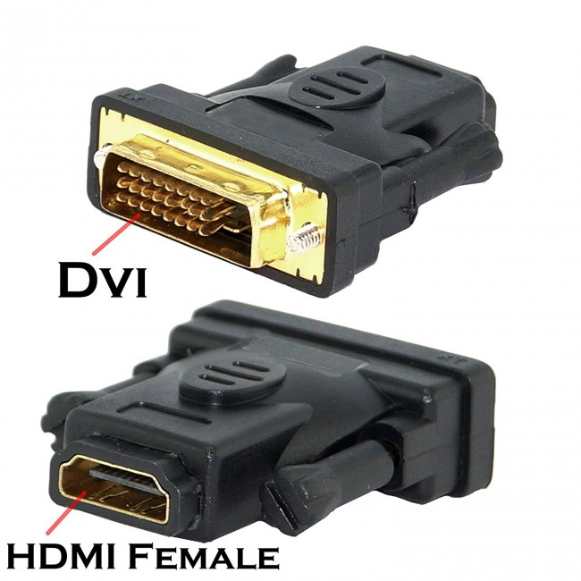 full size dvi port to hdmi