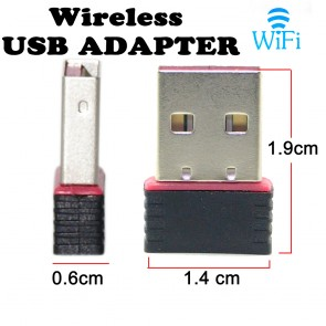 Wholesale 300Mbps USB 2.0 Wireless Mini Wi-Fi Network Adapter 2.4GHz, 802.11N