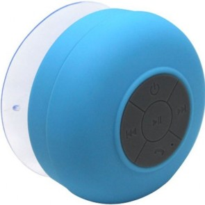 Wholesale Wireless Bluetooth Speaker with Suction Cup for All Devices with Bluetooth Capability - Blue