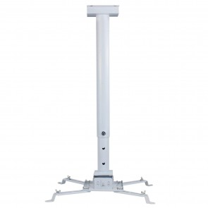 RiaTech Heavy Duty - 3 Feet Projector Ceiling Mount Bracket - White (Weight Capacity - 15kgs)