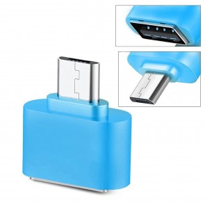 Wholesale Square Micro USB 2.0 OTG Adapter for Smartphones & Tablets (Blue)