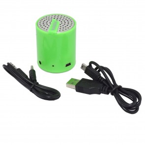Wholesale Tech and Go Splash Mini Rechargeable Portable Speaker - Green