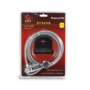 Wholesale Multipurpose Security Cable Lock With Numbers - 2M