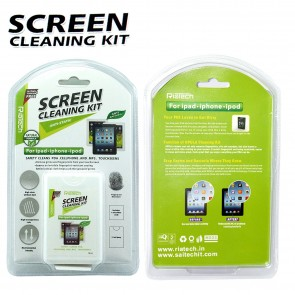 RiaTech 2 in 1 Cleaning Kit for LCD Screen of Mobiles Tablets and Laptops